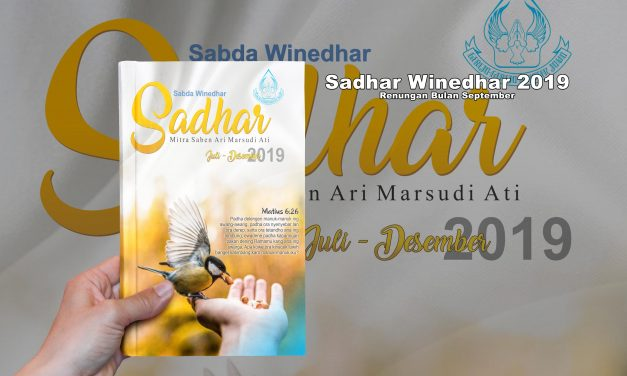 RENUNGAN SABDA WINEDHARS SEPTEMBER 2019