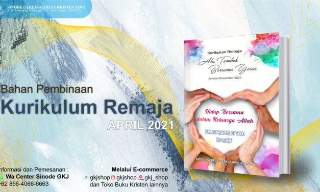 KURIKULUM REMAJA BULAN APRIL