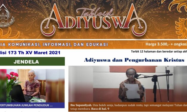 TABLOID ADIYUSWA EDISI MARET 2021