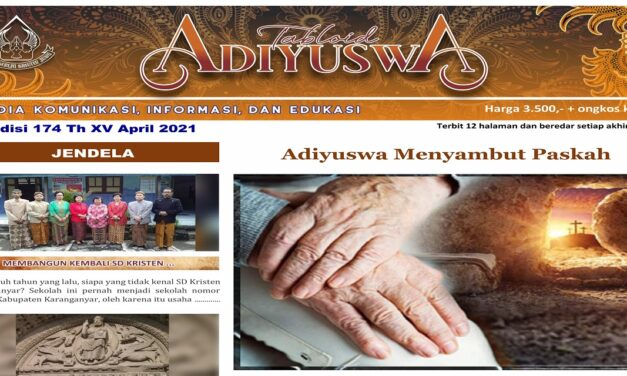 TABLOID ADIYUSWA EDISI APRIL 2021